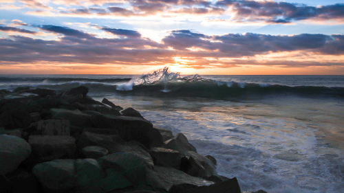 WAVE-SUNSET-NORTH-COUNTY-SAN-DIEGO-CA